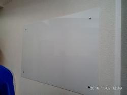Доски стеклянные магнитно-маркерные